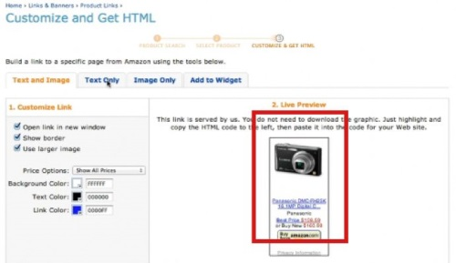 Feel free to browse and customize HTML embedded ads to your site