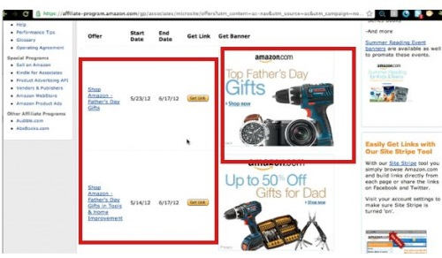 Amazon advertises ads for Holidays and special discounts