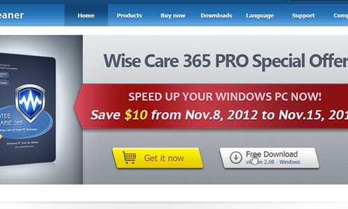 Download Wise Care 365