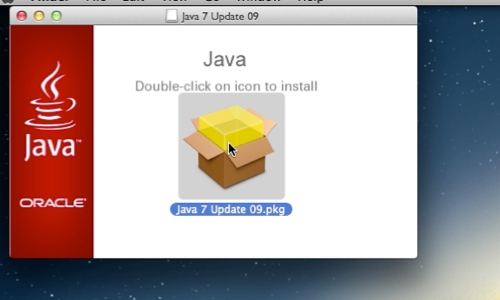 Double-click the installer