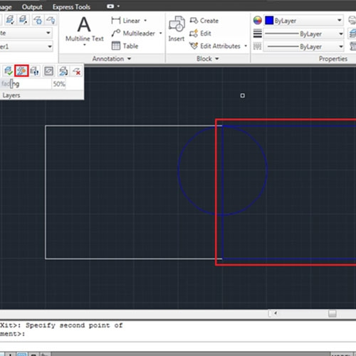 Copy object to a different layer