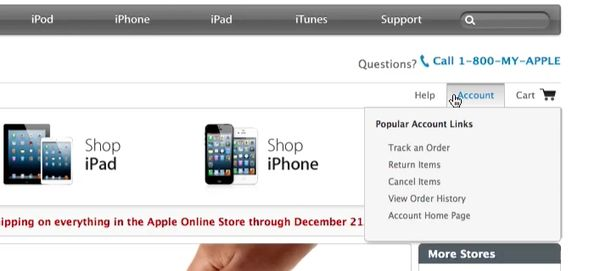 log onto apple.com and go to the account tab in the top right