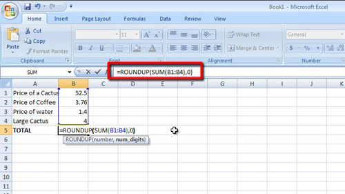 how to make excel 2007 formulas roundup