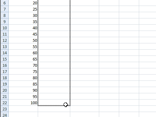 Edit all rows with the same formula