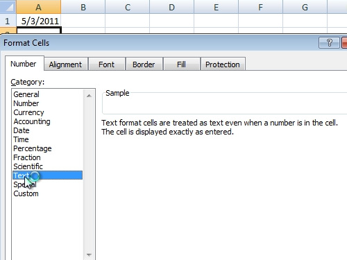 Select the auto format type