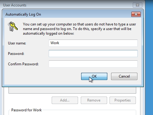 Enter your administrator password