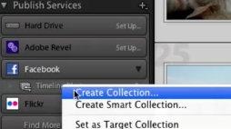 Right click on Create Collection