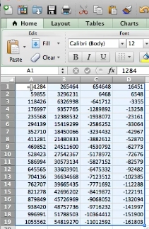 the data will now paste itself to the worksheet