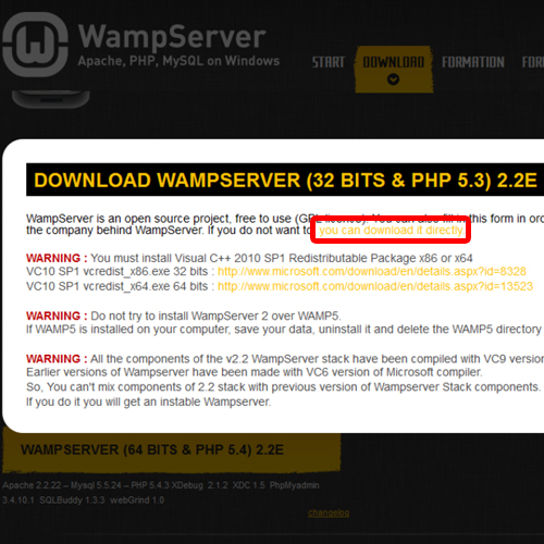 How to Install WampServer in Windows 7 | HowTech