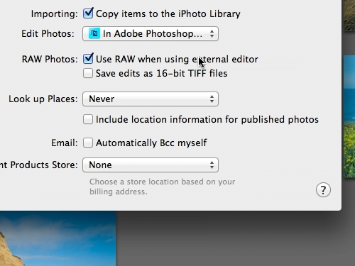 Put a tick in the Use RAW when using external editor checkbox