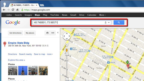2 Get Laude And Longitude From Google Maps on