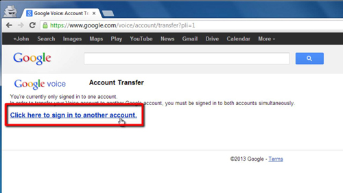 Signing into multiple accounts