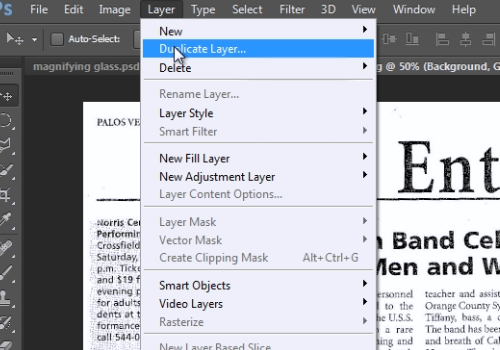 How to Make a Magnifying Glass Effect in Photoshop CS6 | HowTech