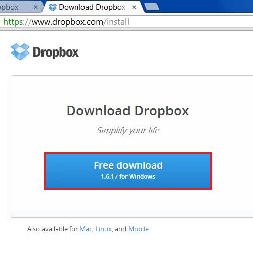 Choose to download the latest version
