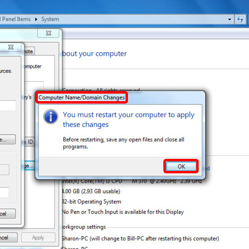 how to change drive name in windows 7