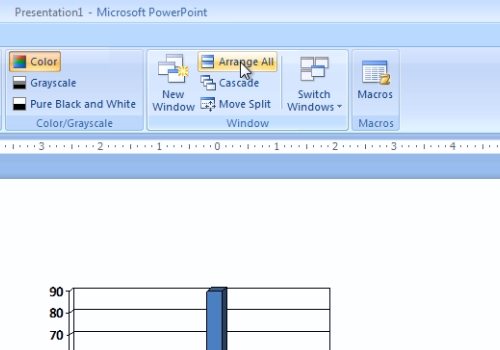 powerpoint how to make text appear on click