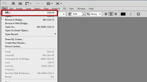 Creating the right sized blank document for the brush
