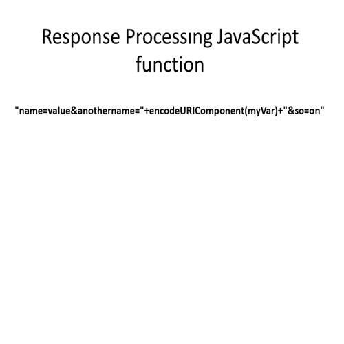 Check for the request state of the JavaScript response function