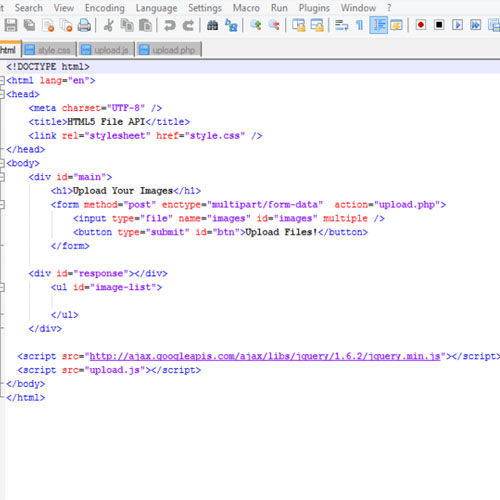 Markup and Styling code