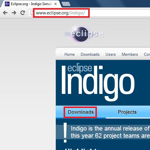 Indigo website