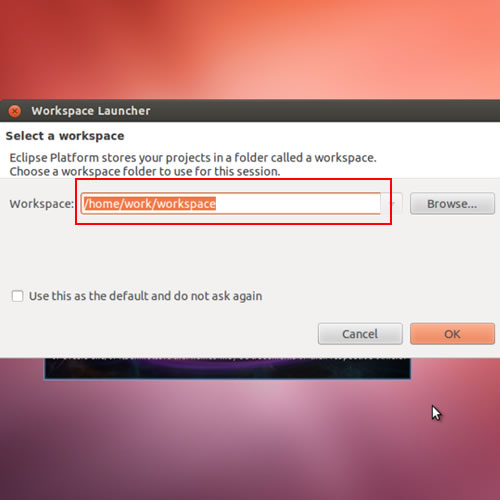 Setting up workspace for Eclipse
