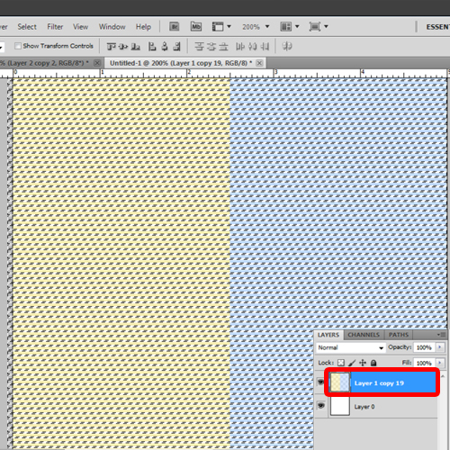 Create a background pattern