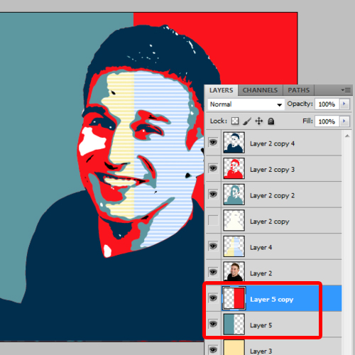 how to make an obama style poster in photoshop howtech