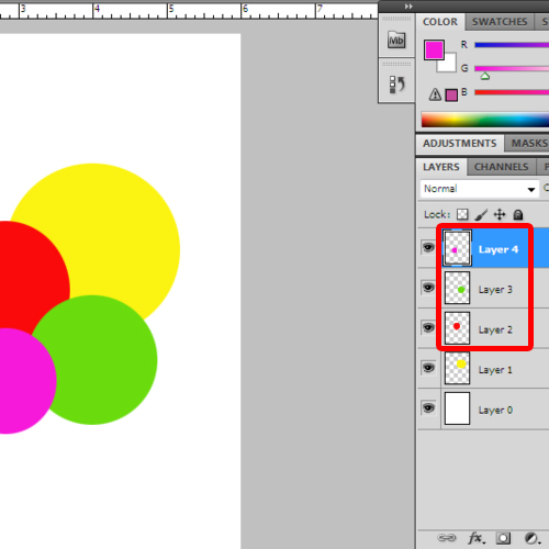 Draw more circles
