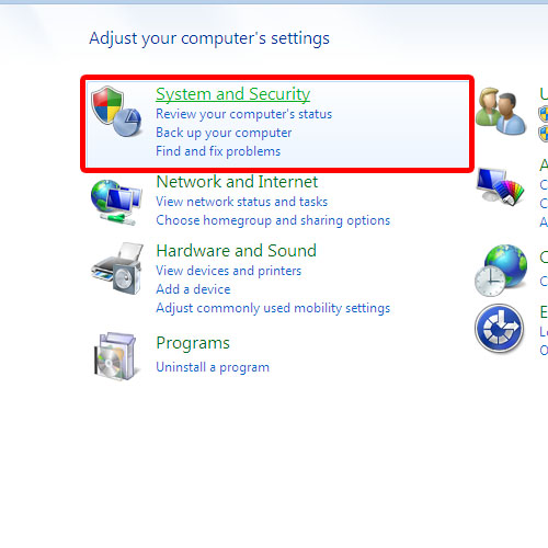 Open System & Security