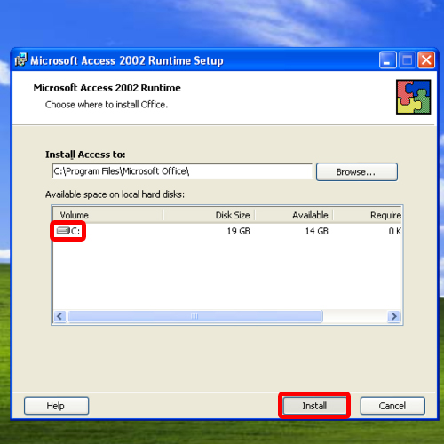 microsoft access 2002 runtime download