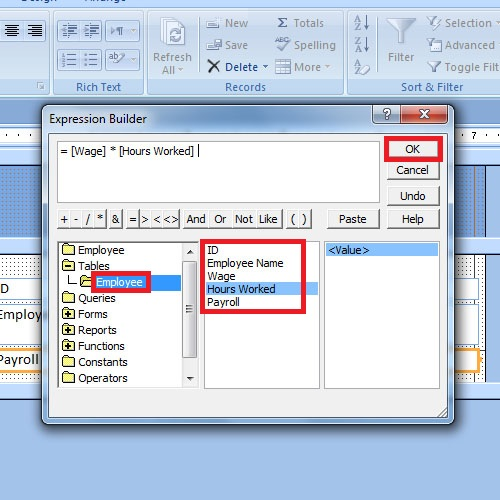 How To Use Microsoft Access Expression Builder Howtech