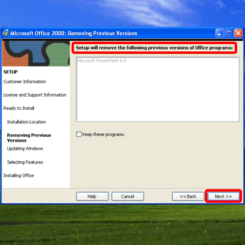 Remove preview office programs