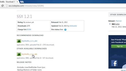 Finding and downloading the required extension