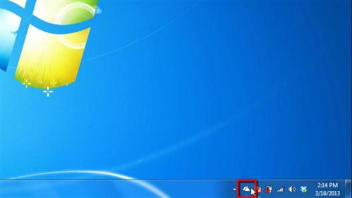 Accessing SkyDrive on the desktop