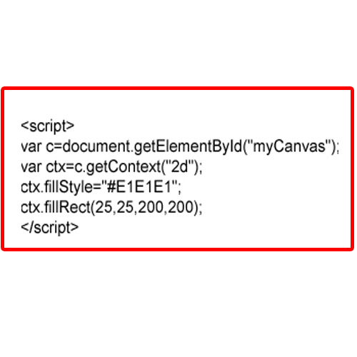 JavaScript Code to draw Canvas