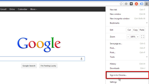 Signing into your Google account