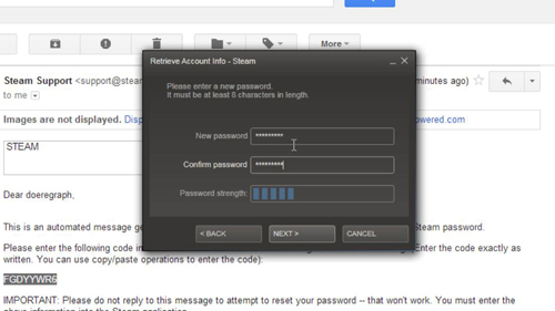Change Outlook Password >> What to Do if You Forgot Steam Password | HowTech