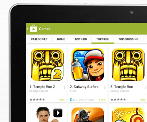 how to get free games on android