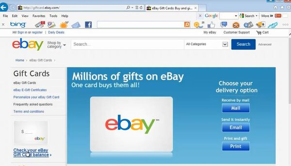 How to Check Your eBay Gift Card Balance | HowTech