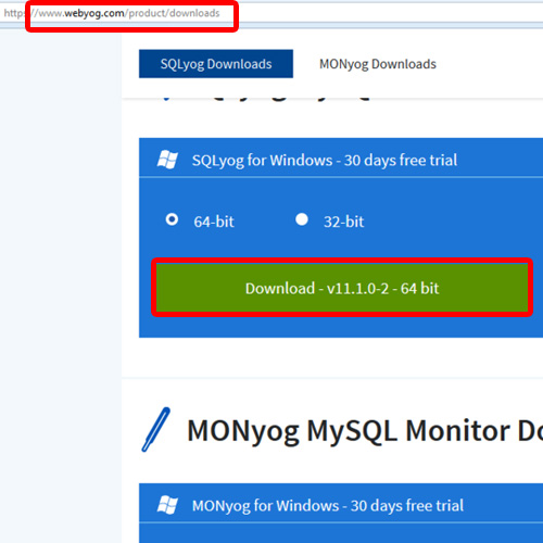 Downloading the Sql Instance