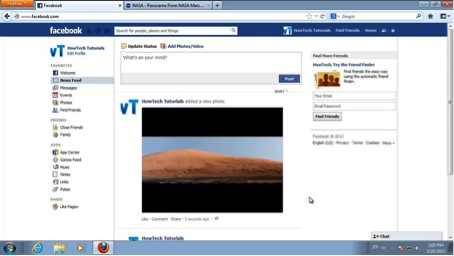 add pictures to Facebook