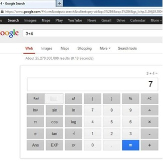 result is calculated in browser by Google calculator