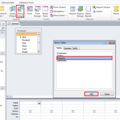 How to Create an Update Query in Microsoft Access | HowTech