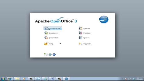 access Open Office document