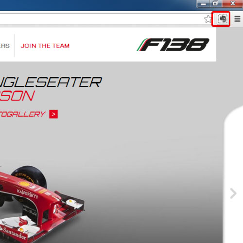 Go to evernote icon