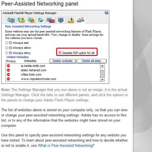 Open Peer-Assisted Networking panel