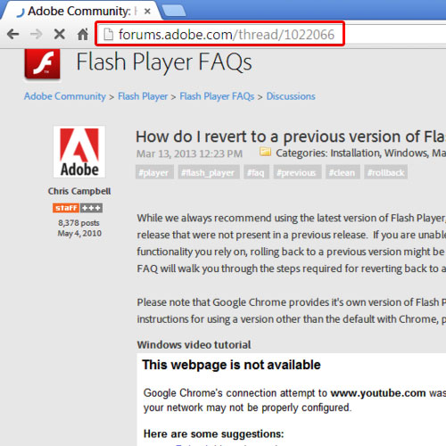 How To Set Up Older Version Of Flash Player Howtech