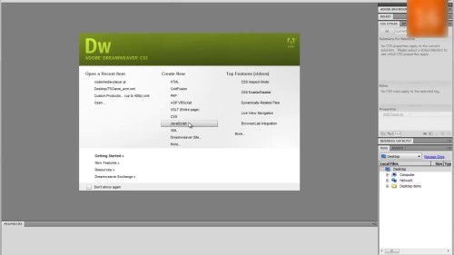 Dreamweaver uses third party extensions