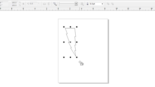 Drawing a basic shape onto the canvas