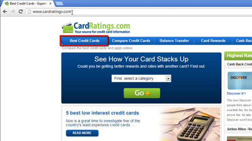 Finding a good credit card for your needs